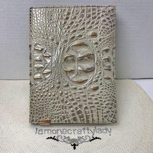 Brahmin Journal SILVER BIRCH MELBOURNE Leather New